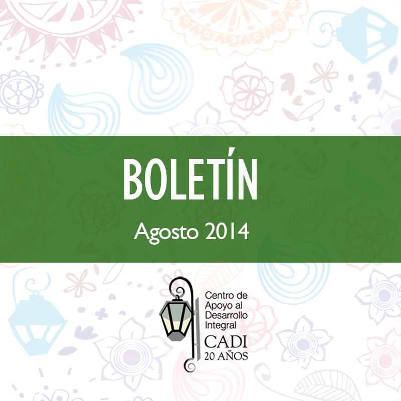 BOLETIN FB Agosto2014