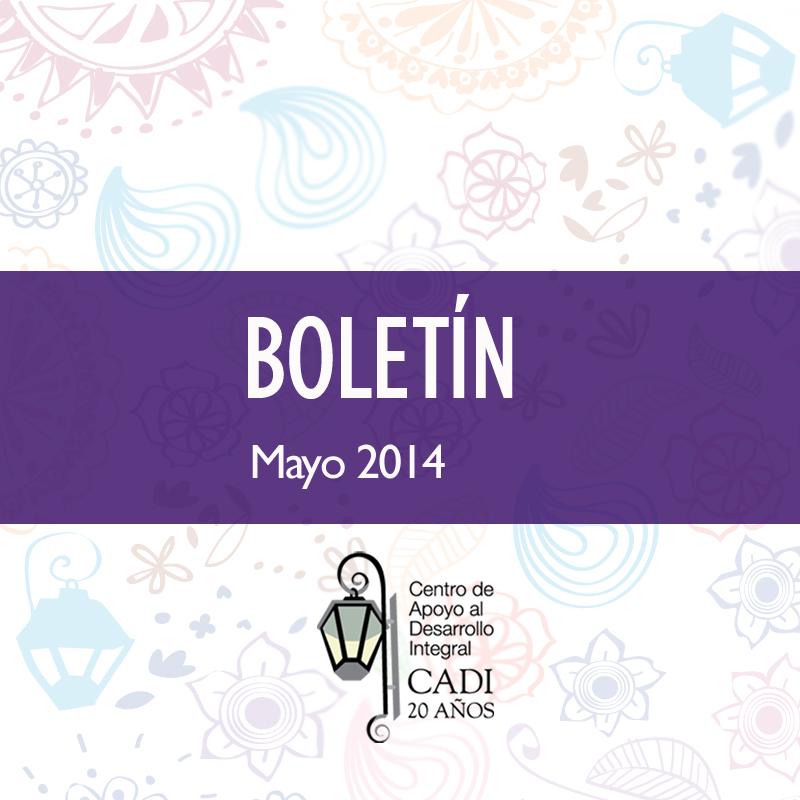 BOLETIN FB Mayo 2014