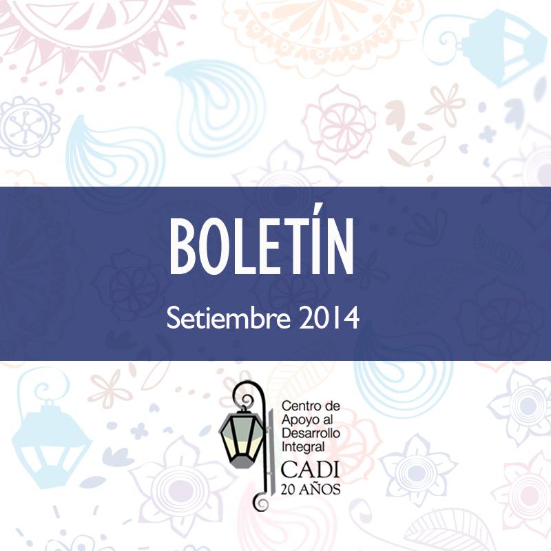 BOLETIN FB Setiembre2014