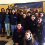 En nuestra visita al Crandon.